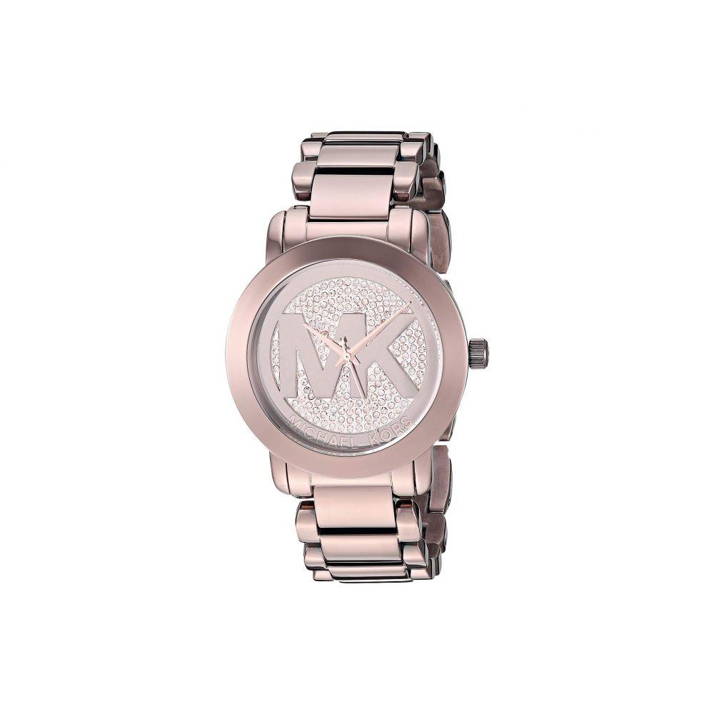 マイケル コース Michael Kors レディース 腕時計【MK6534 - Logo Dial】Rose Gold