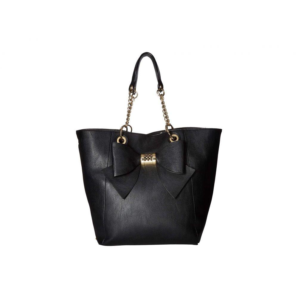 ベッツィ ジョンソン Betsey Johnson レディース バッグ トートバッグ【Bag in Bag Bow Tote】Black