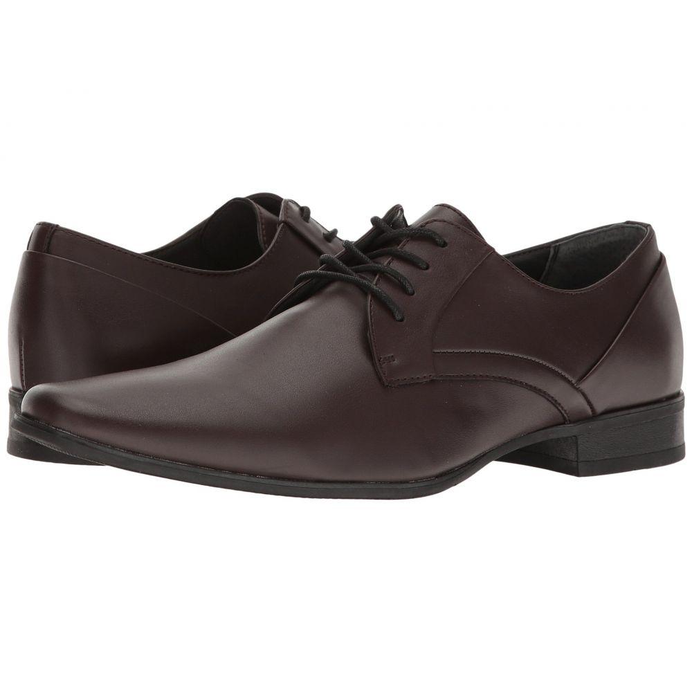 カルバンクライン Calvin Klein メンズ シューズ・靴 革靴・ビジネスシューズ【Benton】Oxblood Smooth