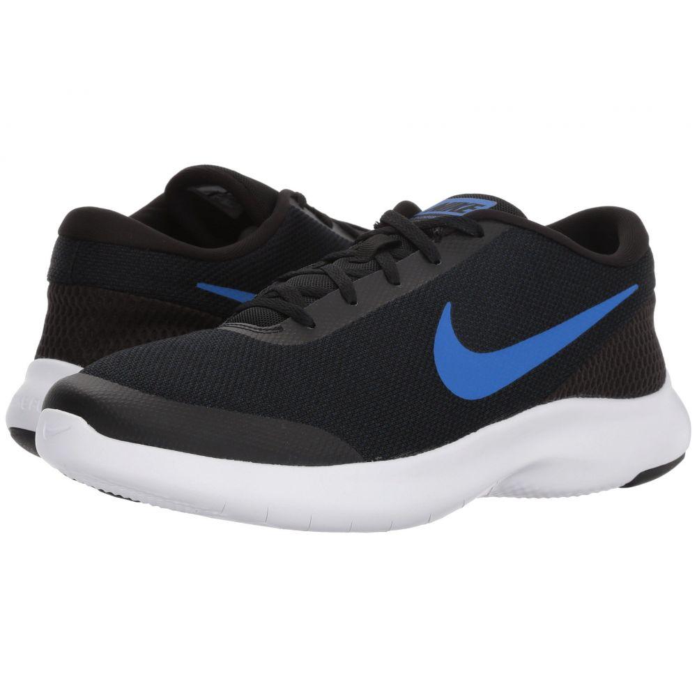 ナイキ Nike メンズ ランニング・ウォーキング シューズ・靴【Flex Experience RN 7 Wide】Black/Hyper Royal Obsidian