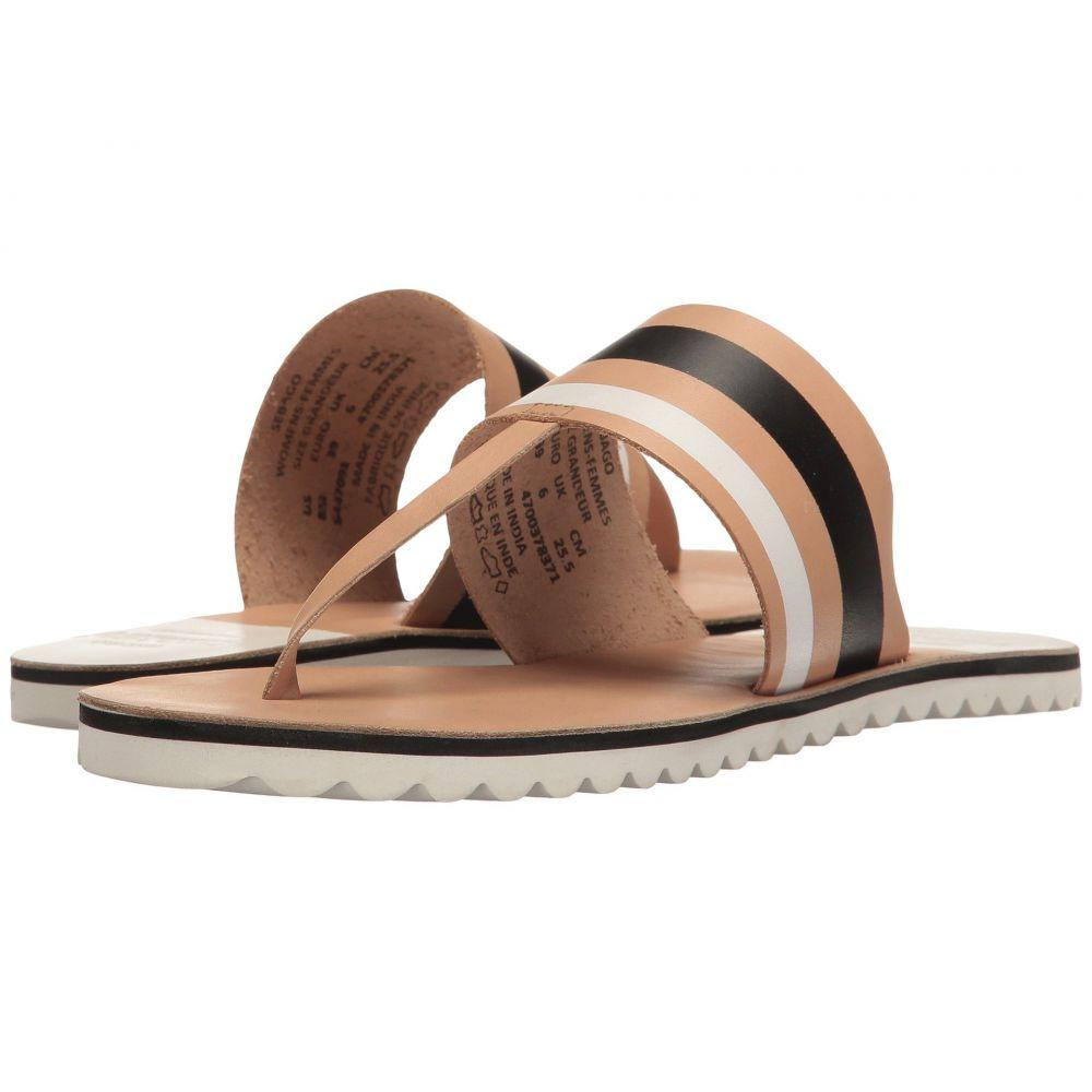 セバゴ Sebago レディース シューズ・靴 ビーチサンダル【Sidney Instep】Tan Leather/White Multi
