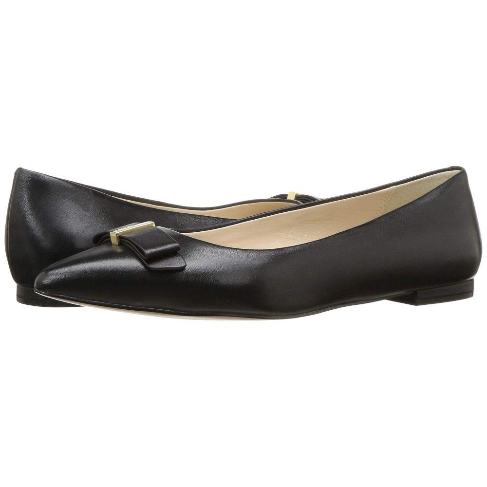 コールハーン Cole Haan レディース シューズ・靴 スリッポン・フラット【Elsie Bow Skimmer Ballet Flat】Black Leather