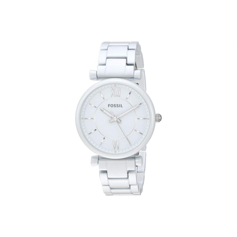フォッシル Fossil レディース 腕時計【Carlie - ES4401】White