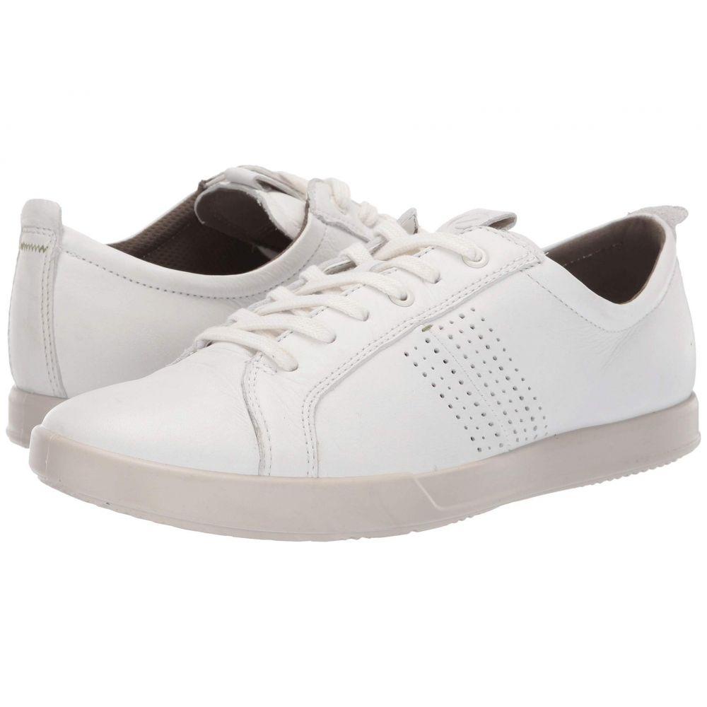 エコー ECCO メンズ シューズ・靴 スニーカー【Collin 2.0 Trend Sneaker】White Leather