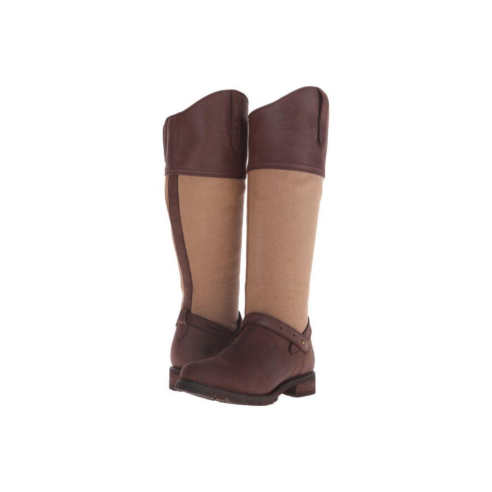 アリアト Ariat レディース ハイキング・登山 シューズ・靴【Sherborne H2O】Seal Brown