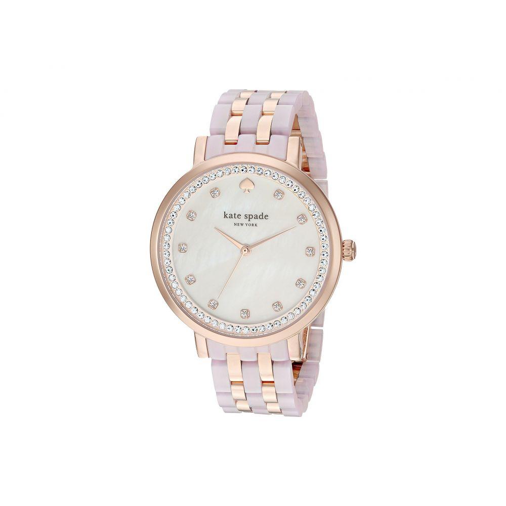 ケイト スペード Kate Spade New York レディース 腕時計【38mm Monterey Watch - KSW1264】Rose Gold/Rose Gold
