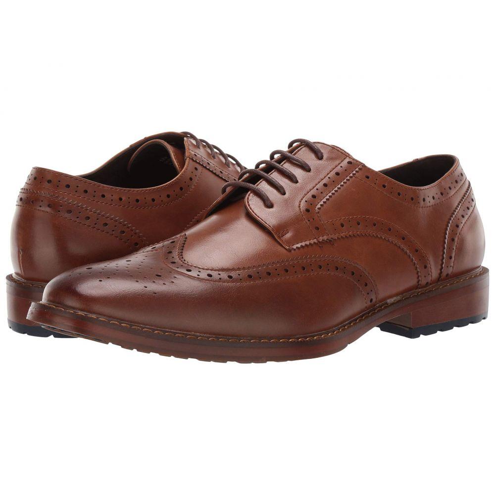 ヴァンハウセン Van Heusen メンズ シューズ・靴 革靴・ビジネスシューズ【George】Cognac