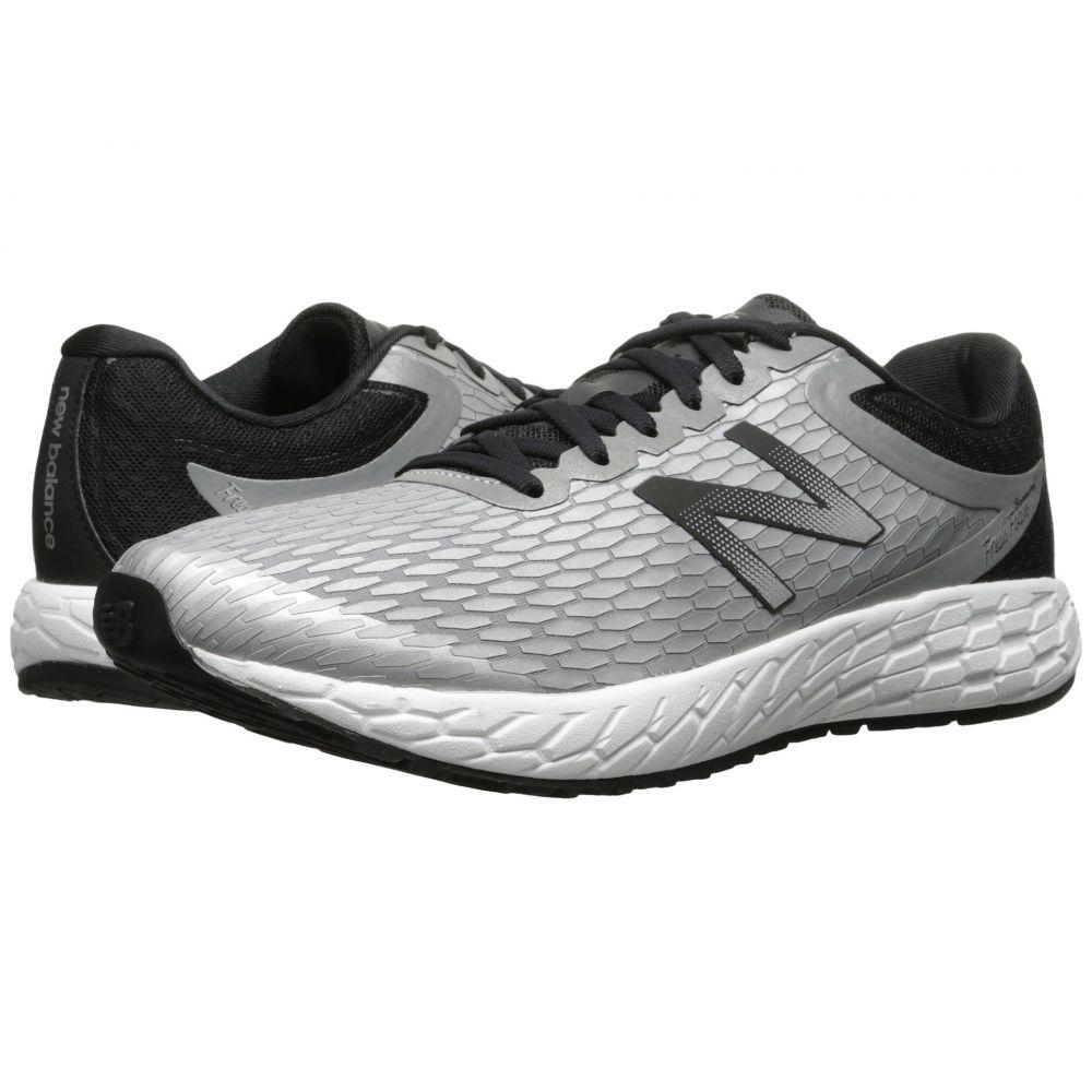 ニューバランス New Balance メンズ ランニング・ウォーキング シューズ・靴【Fresh Foam Boracay V3】Metallic Silver/Black/White