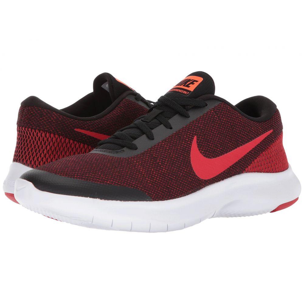 ナイキ Nike メンズ ランニング・ウォーキング シューズ・靴【Flex Experience RN 7】Black/University Red/Gym Red