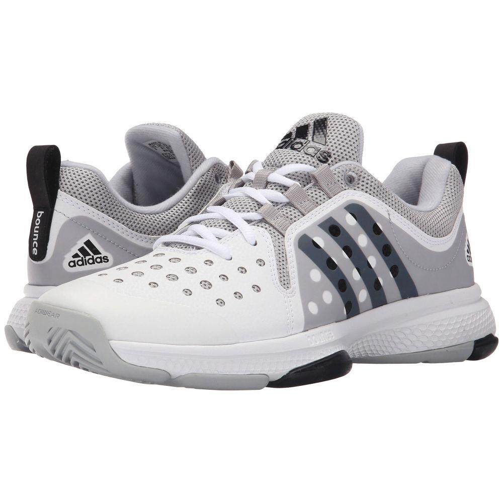 アディダス adidas メンズ シューズ・靴 スニーカー【Barricade Classic Bounce】White/Black/Grey Heather