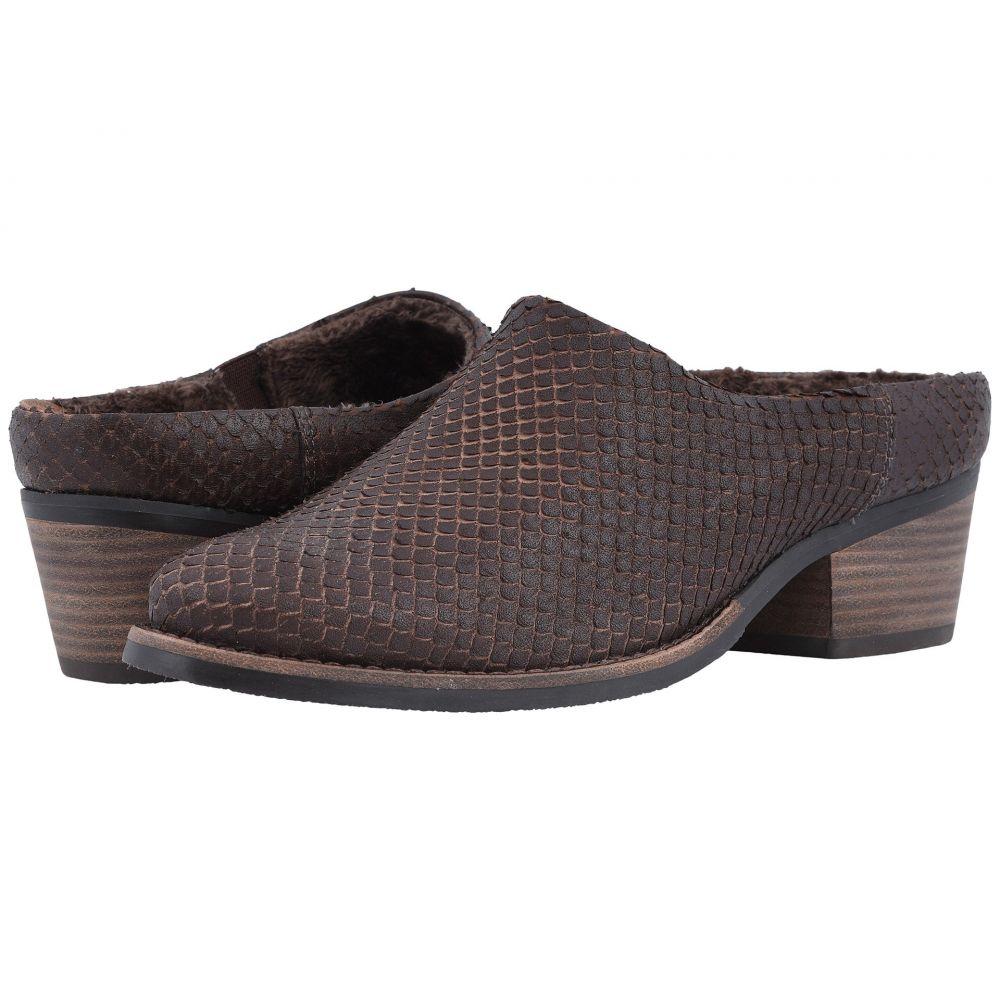 ウォーキング クレードル Walking Cradles レディース シューズ・靴【Greer】Brown Cut Snake Print Leather