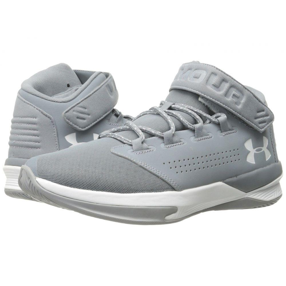 アンダーアーマー Under Armour メンズ バスケットボール シューズ・靴【UA Get B Zee】Steel/White/White