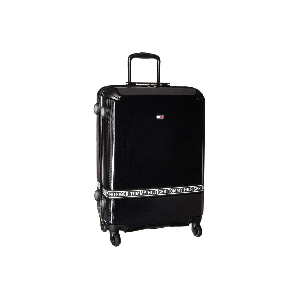 トミー ヒルフィガー Tommy Hilfiger レディース バッグ スーツケース・キャリーバッグ【Courtside 24 Upright Suitcase】Black