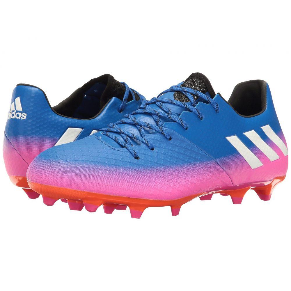 アディダス adidas メンズ サッカー シューズ・靴【Messi 16.2 FG】Blue/Footwear White/Orange