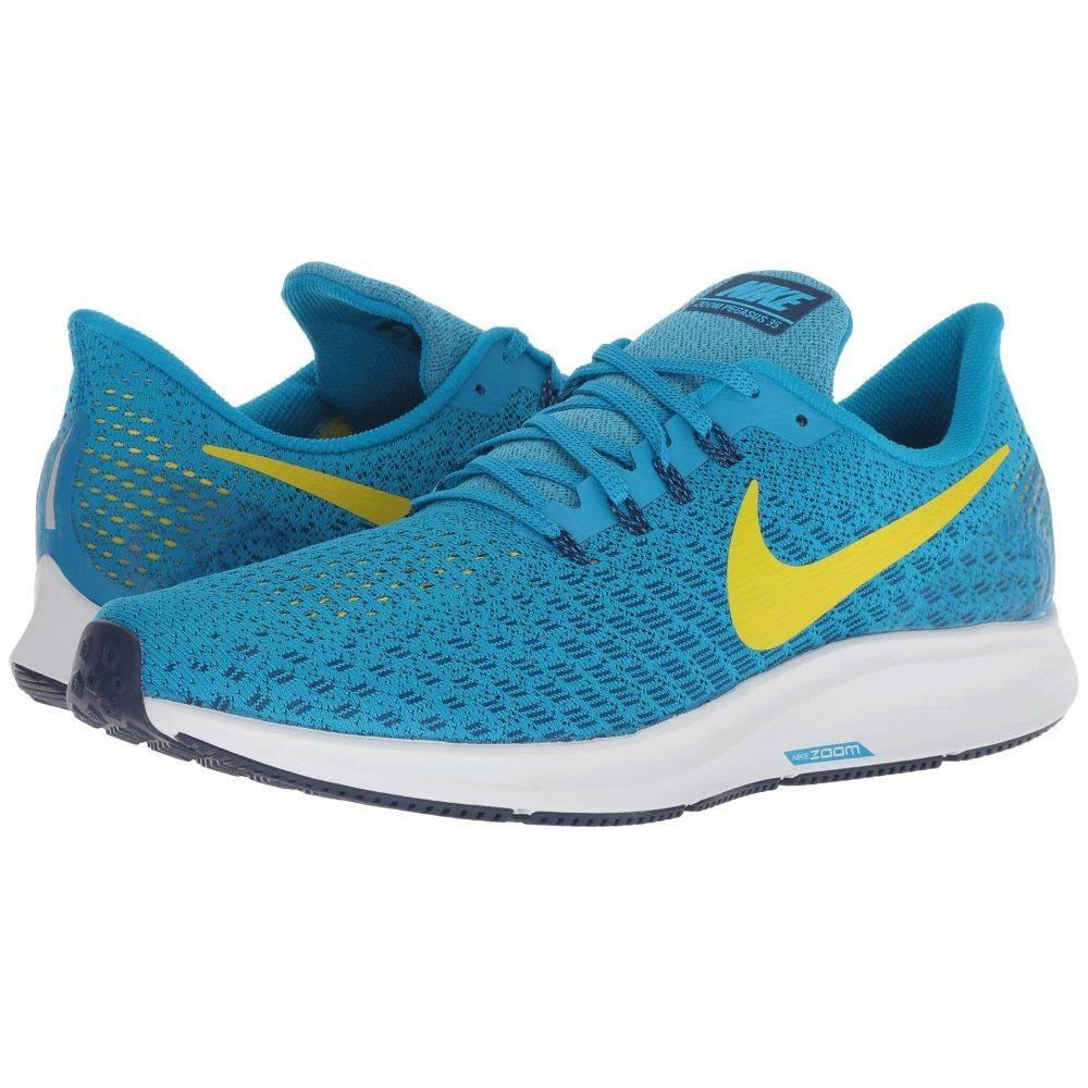 ナイキ Nike メンズ ランニング・ウォーキング シューズ・靴【Air Zoom Pegasus 35】Blue Orbit/Bright Citron/Blue Void