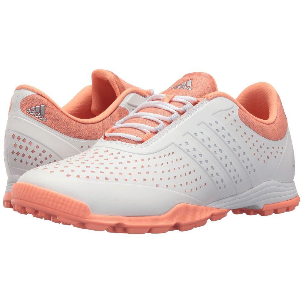 アディダス adidas Golf レディース シューズ・靴【Adipure Sport】Core White/Aero Blue/Chalk Coral