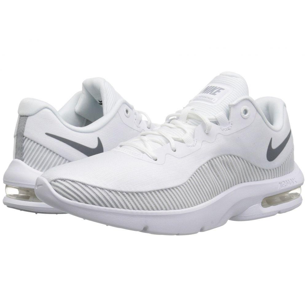 ナイキ Nike レディース ランニング・ウォーキング シューズ・靴【Air Max Advantage 2】White/Wolf Grey/Pure Platinum/Cool Grey