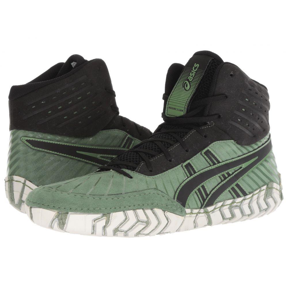 アシックス ASICS メンズ シューズ・靴 スニーカー【Aggressor 4】Cedar Green/Black