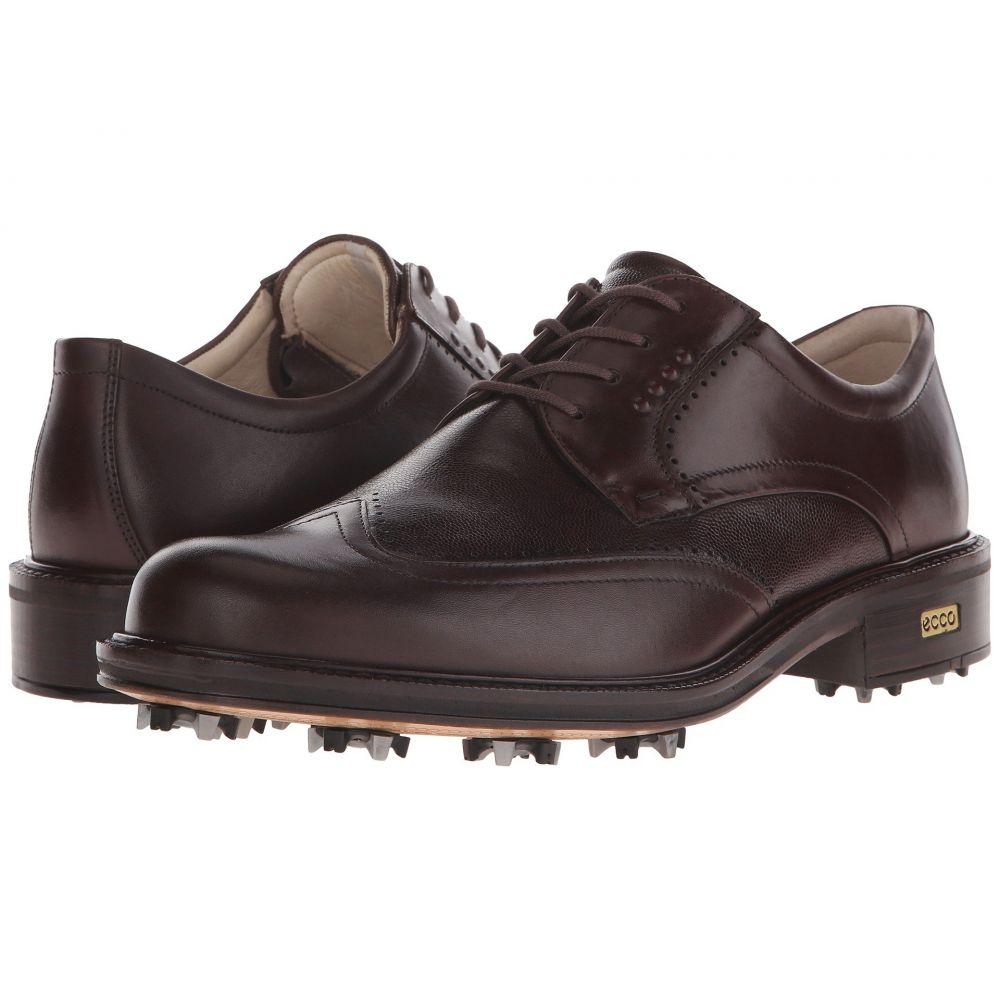 エコー ECCO Golf メンズ シューズ・靴【New World Class】Cocoa Brown/Cocoa Brown