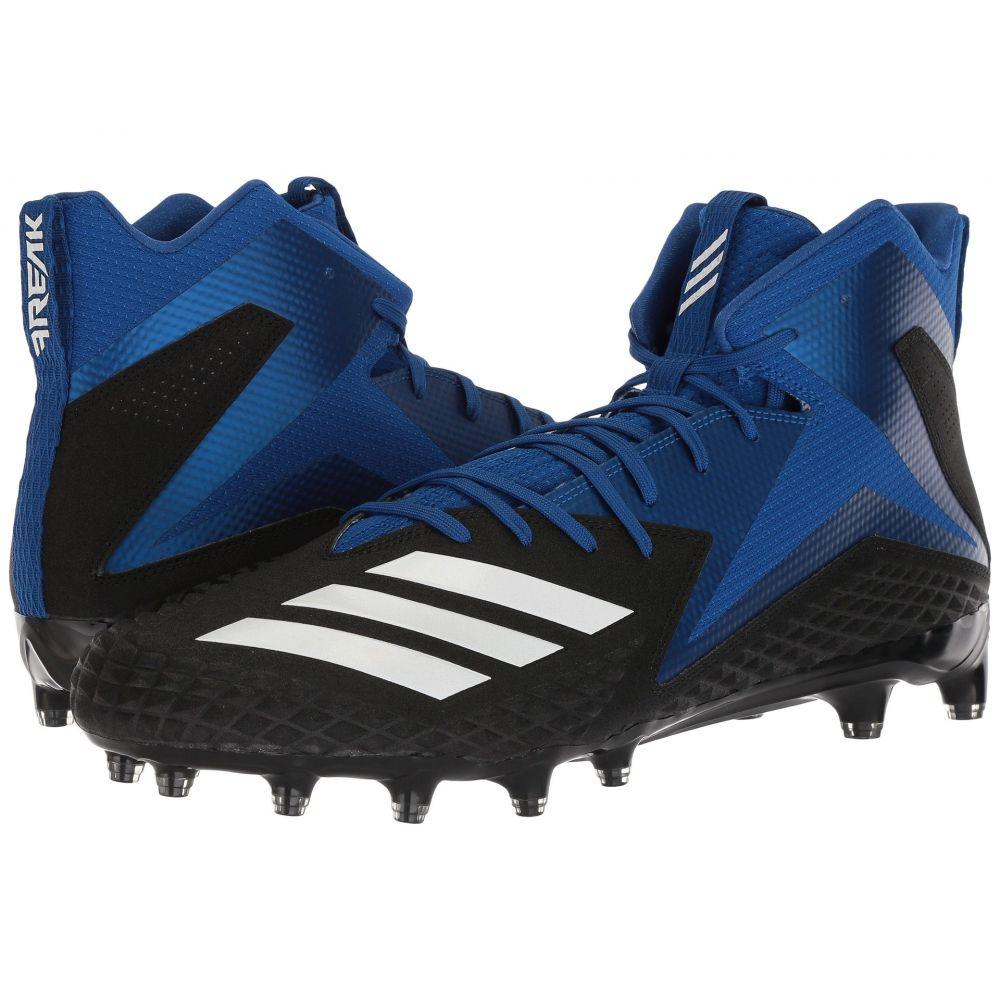 アディダス adidas メンズ アメリカンフットボール シューズ・靴【Freak x Carbon Mid】Core Black/Footwear White/Collegiate Royal