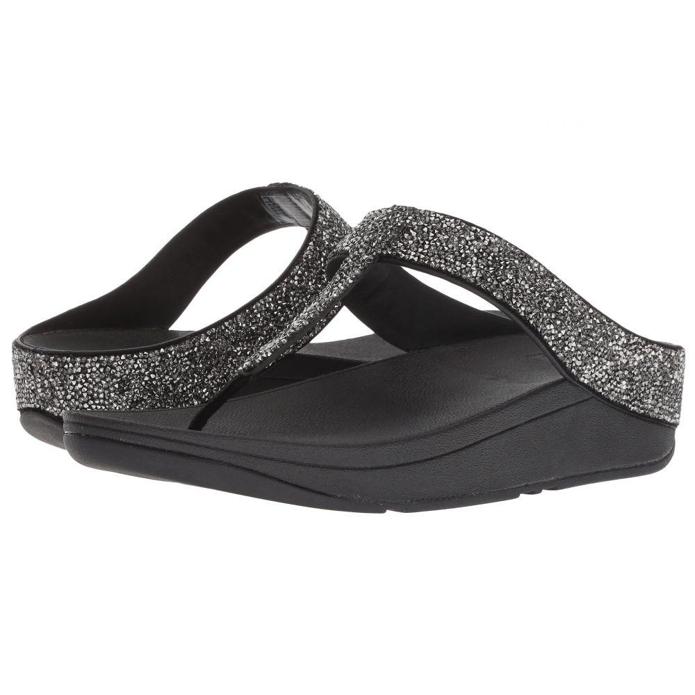 Sandals】Black Thong シューズ・靴 フィットフロップ Toe レディース FitFlop Quartz ビーチサンダル【Fino
