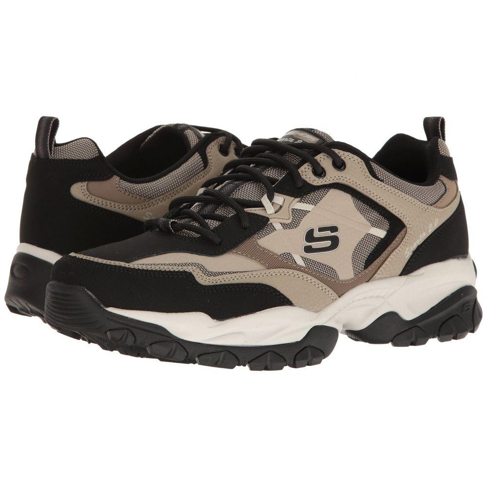 スケッチャーズ SKECHERS メンズ ハイキング・登山 シューズ・靴【Sparta 2.0】Taupe/Black