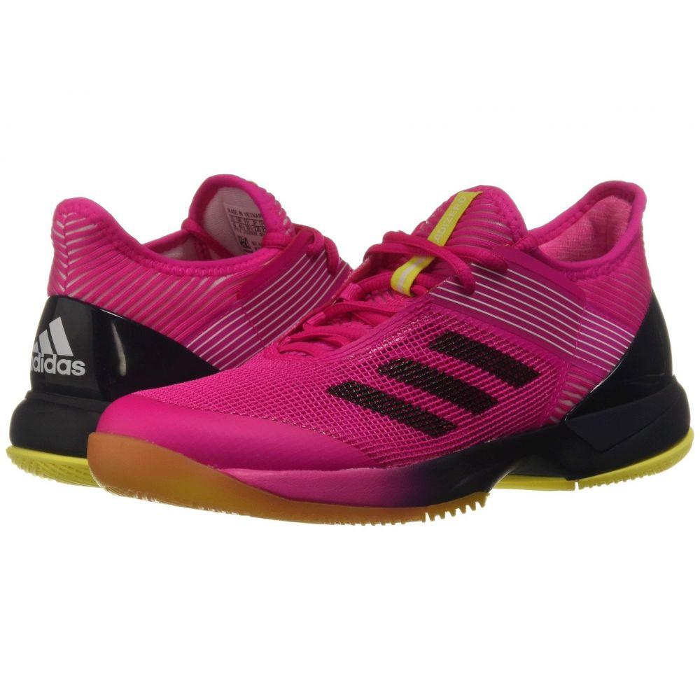 アディダス adidas レディース テニス シューズ・靴【adizero Ubersonic 3】Shock Pink/Legend Ink/White