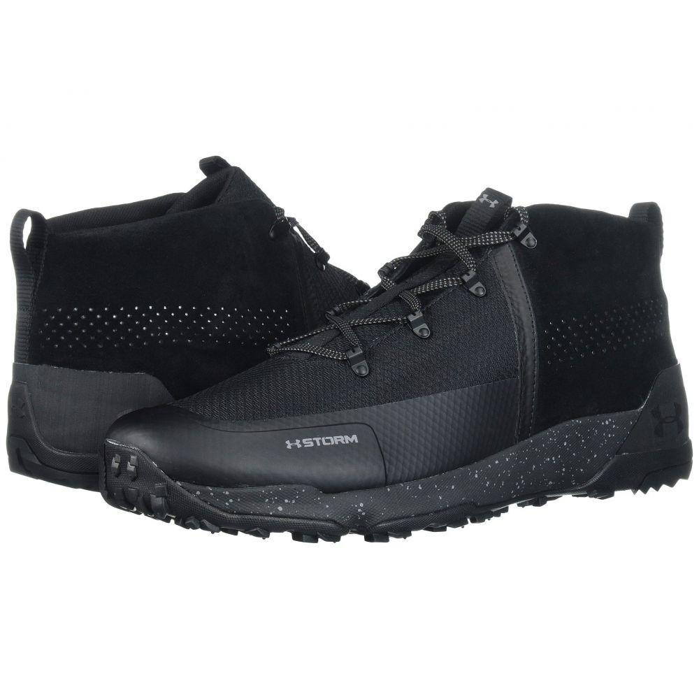 アンダーアーマー Under Armour メンズ ハイキング・登山 シューズ・靴【UA Burnt River 2.0 Mid】Black/Black/Graphite