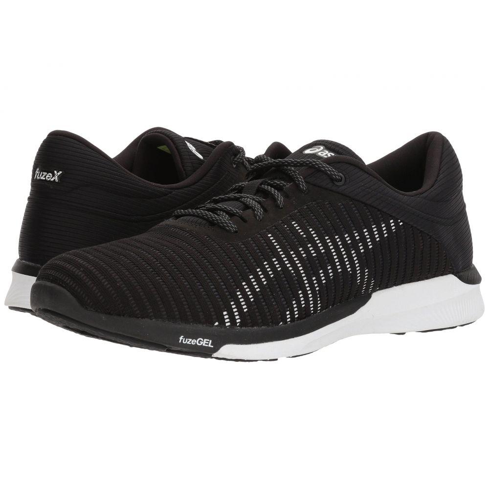 アシックス ASICS メンズ ランニング・ウォーキング シューズ・靴【fuzeX Rush Adapt】Black/White/Dark Grey