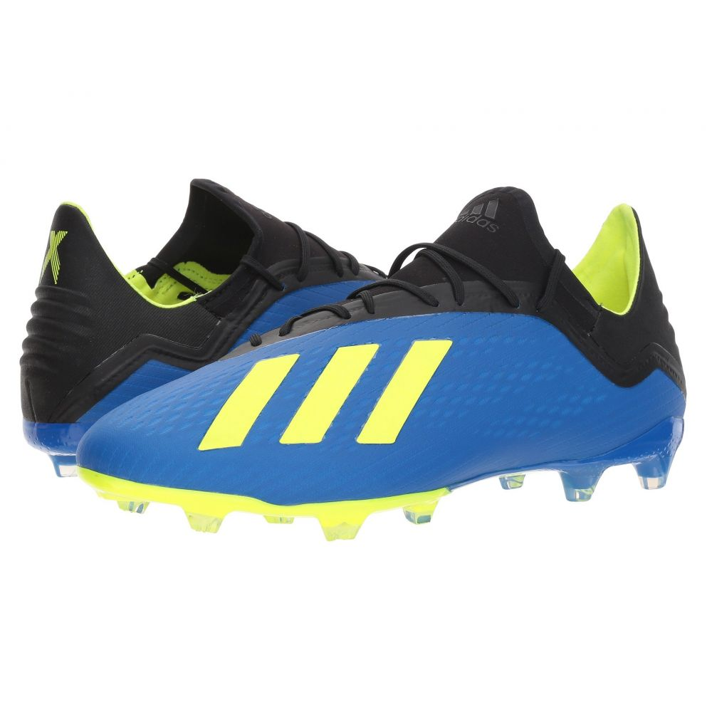 アディダス adidas メンズ サッカー シューズ・靴【X 18.2 FG World Cup Pack】Football Blue/Solar Yellow/Black
