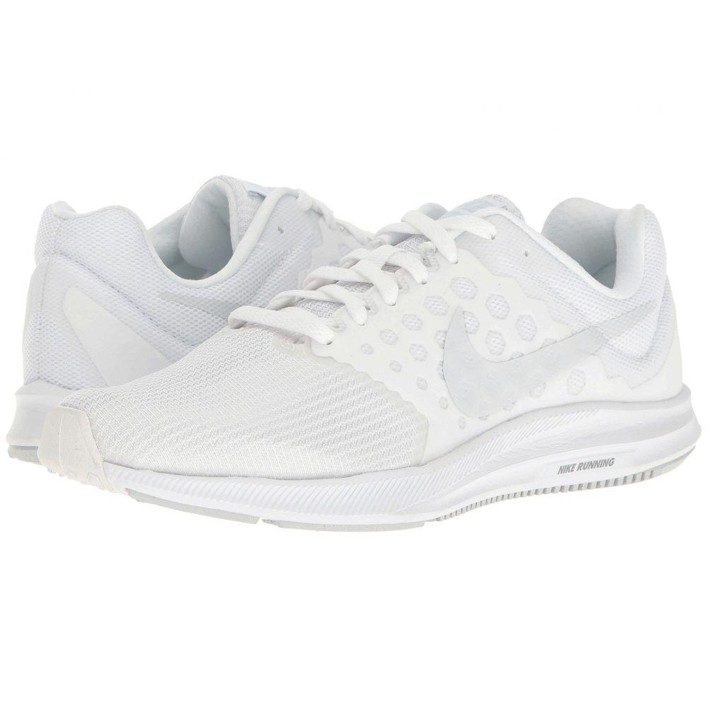 ナイキ Nike レディース ランニング・ウォーキング シューズ・靴【Downshifter 7】White/Pure Platinum