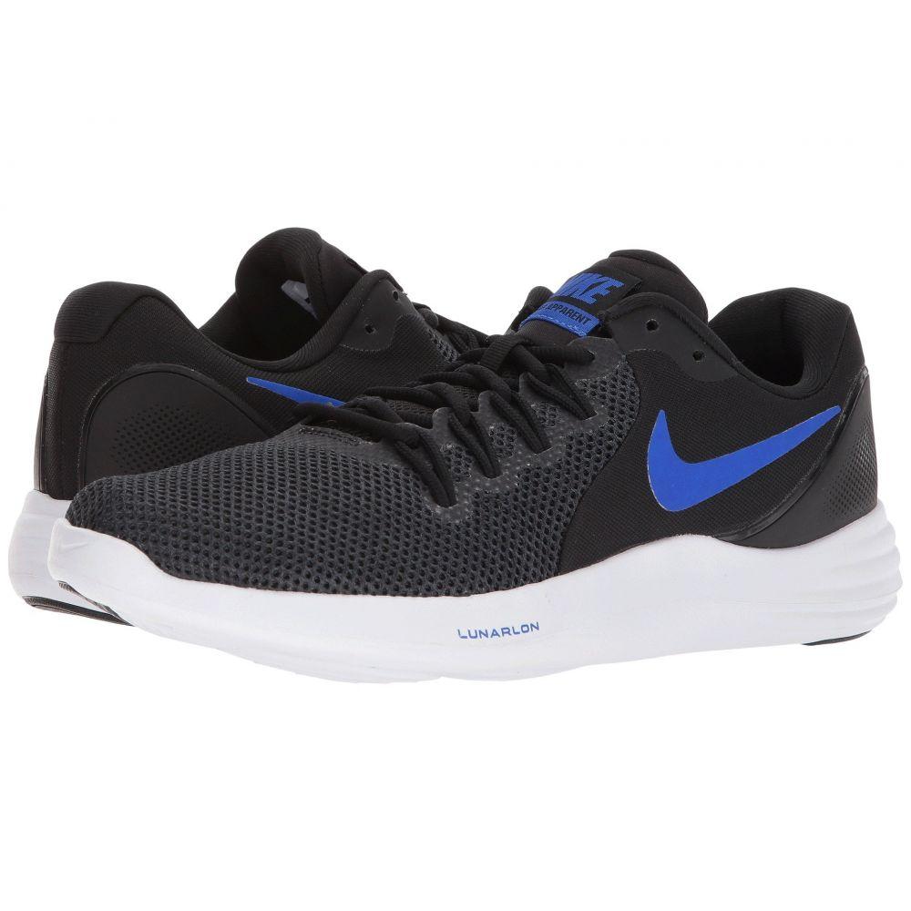 ナイキ Nike メンズ ランニング・ウォーキング シューズ・靴【Lunar Apparent】Black/Racer Blue/Anthracite/White