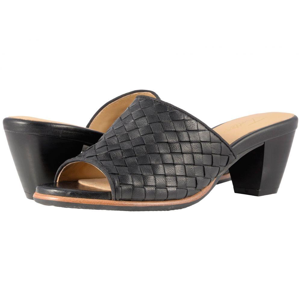 トロッターズ Trotters レディース シューズ・靴【Corsa】Black Woven Leather