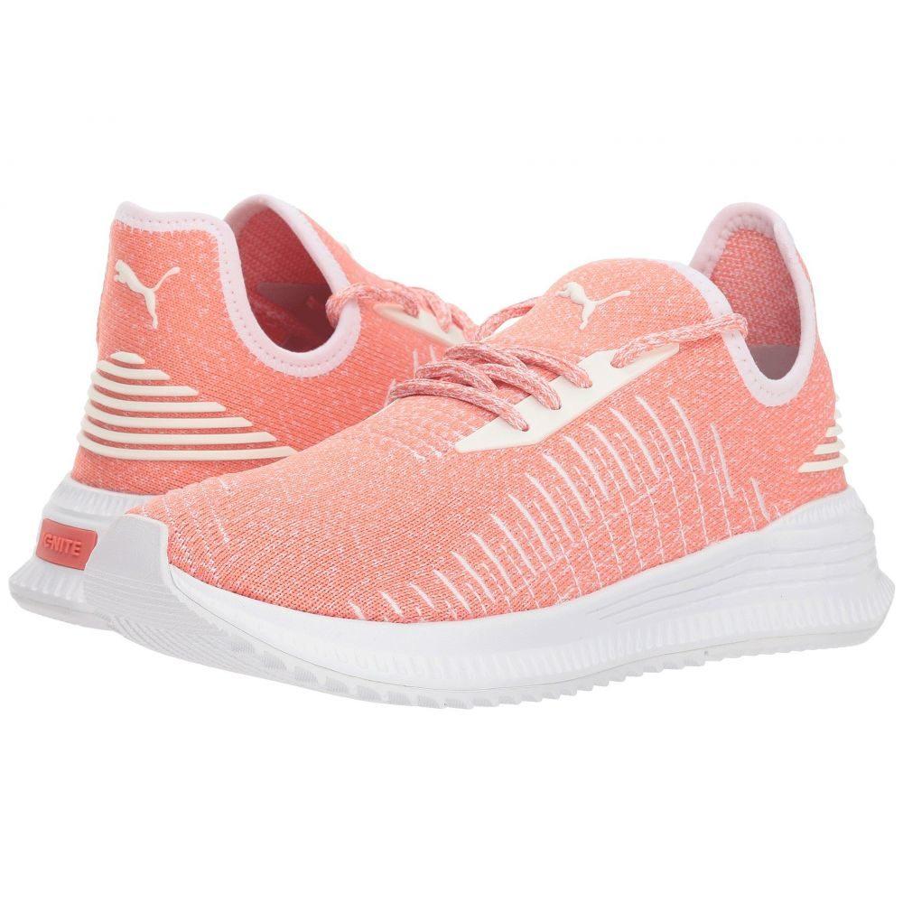 プーマ PUMA レディース ランニング・ウォーキング シューズ・靴【Avid evoKNIT】Shell Pink/Puma White