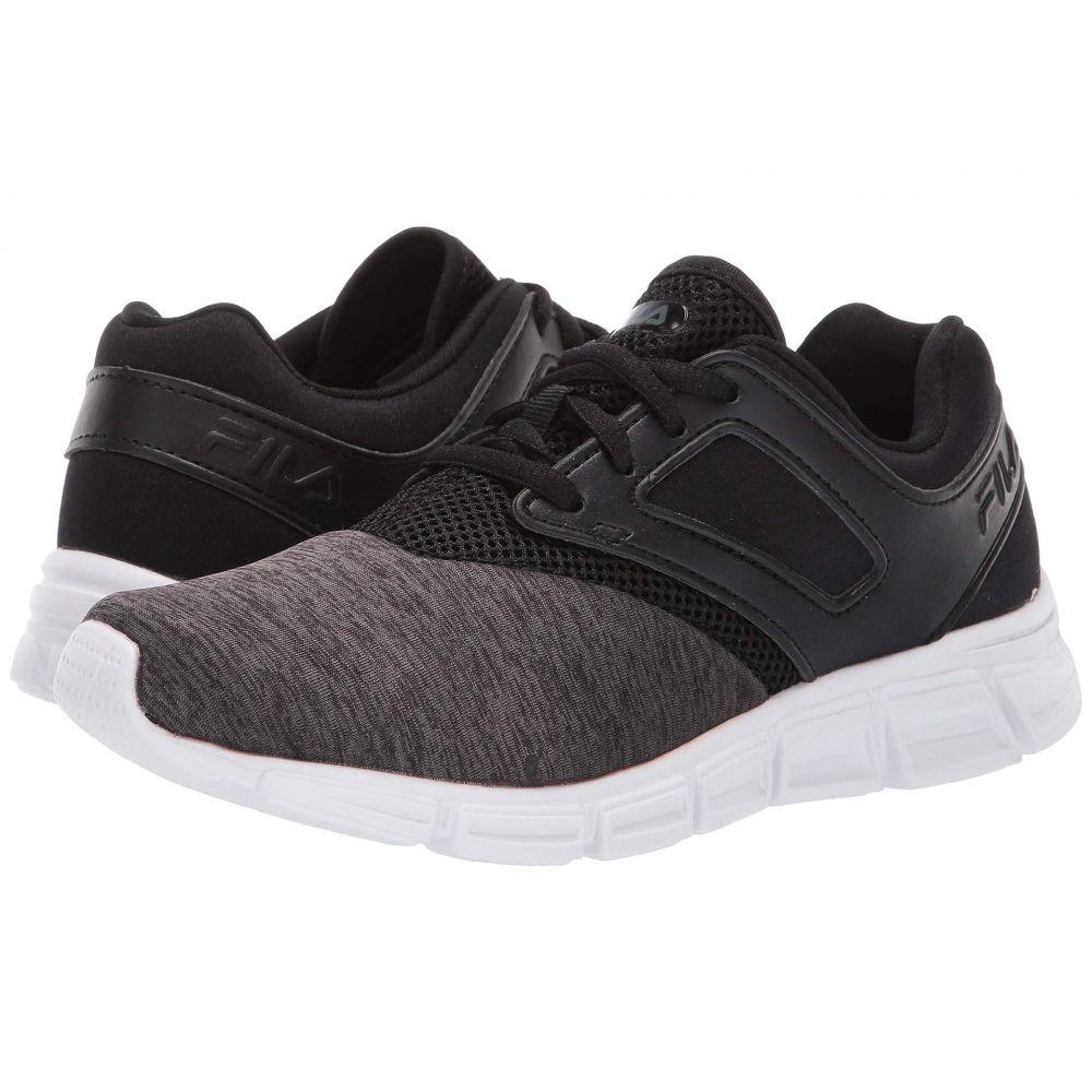 フィラ Fila レディース ランニング・ウォーキング シューズ・靴【O-Ray Running】Black Heather/Black/White