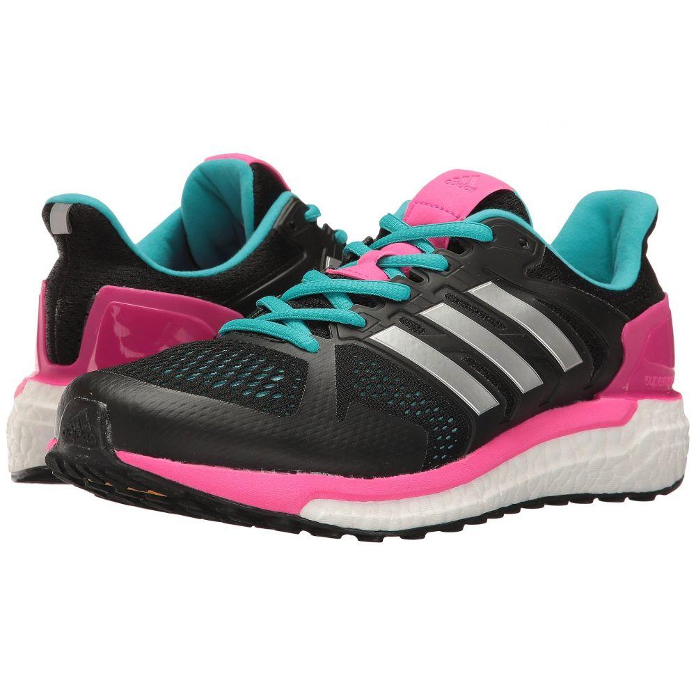 アディダス adidas Running レディース ランニング・ウォーキング シューズ・靴【Supernova Stability】Black/Silver/Shock Pink