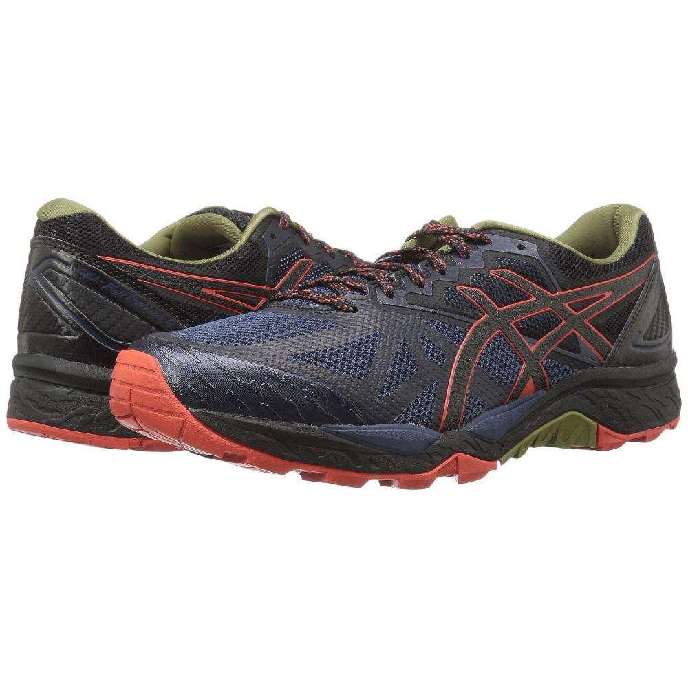 アシックス ASICS メンズ ランニング・ウォーキング シューズ・靴【GEL-Fujitrabuco 6】Insignia Blue/Black/Red Clay