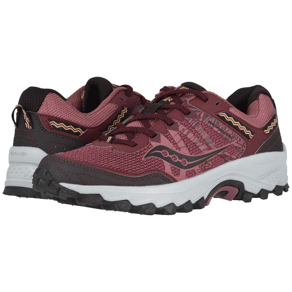 サッカニー Saucony レディース ランニング・ウォーキング シューズ・靴【Grid Excursion TR12】Burgundy/Grey