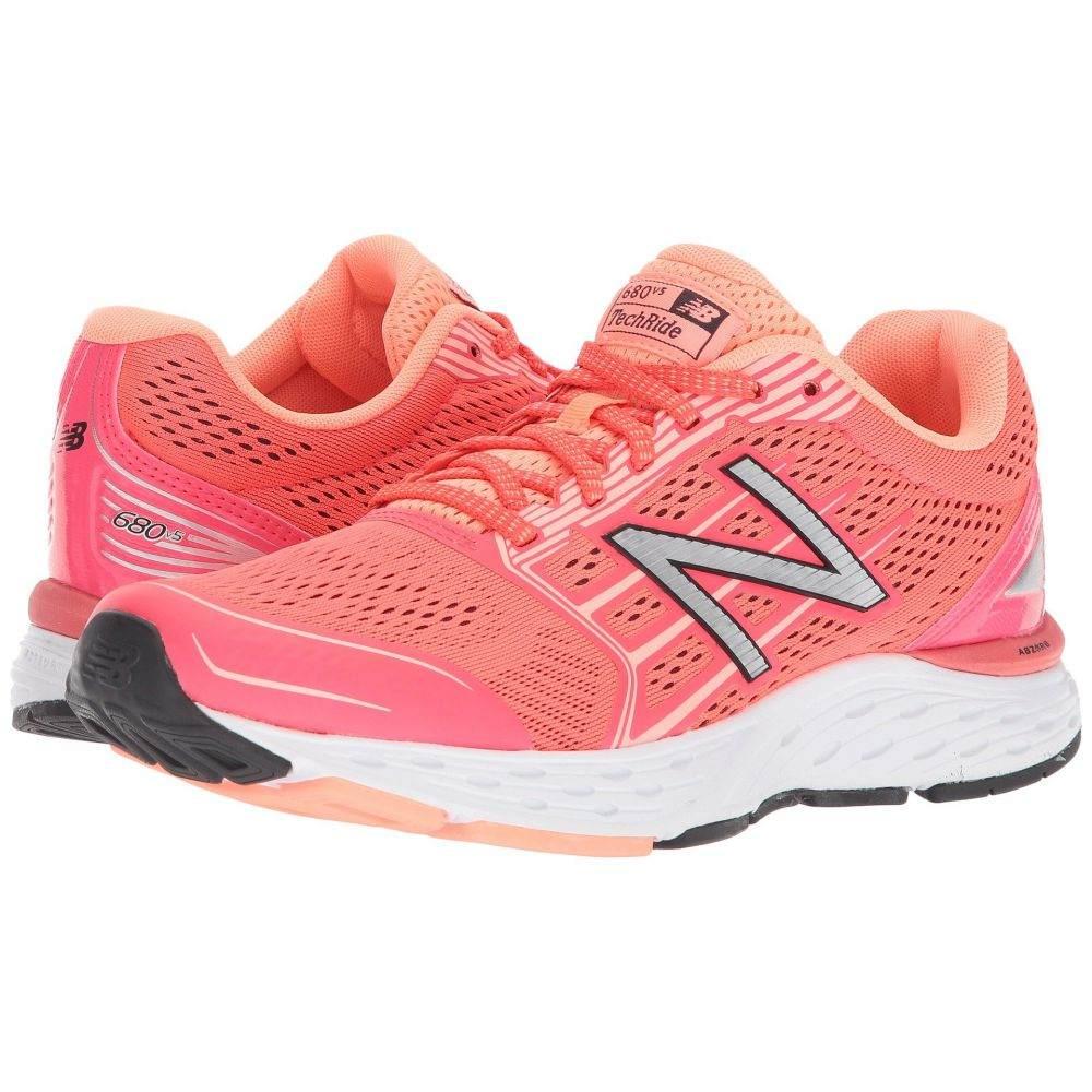 ニューバランス New Balance レディース ランニング・ウォーキング シューズ・靴【680v5】Vivid Coral/Fiji