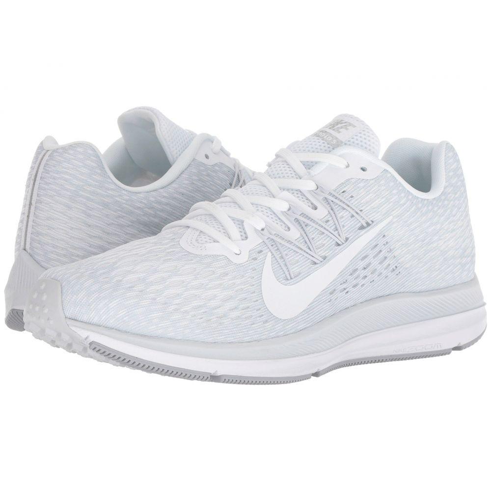 ナイキ Nike メンズ ランニング・ウォーキング シューズ・靴【Air Zoom Winflo 5】White/White/Wolf Grey/Pure Platinum