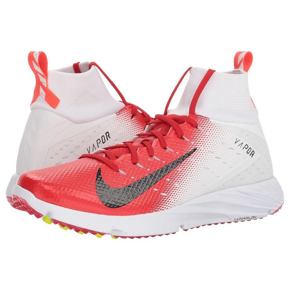 ナイキ Nike メンズ アメリカンフットボール シューズ・靴【Vapor Speed Turf 2】White/Black/University Red/Total Crimson