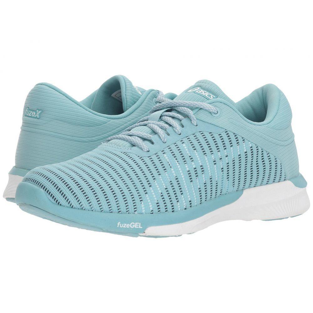 アシックス ASICS レディース ランニング・ウォーキング シューズ・靴【fuzeX Rush Adapt】Porcelain Blue/White/Smoke Blue
