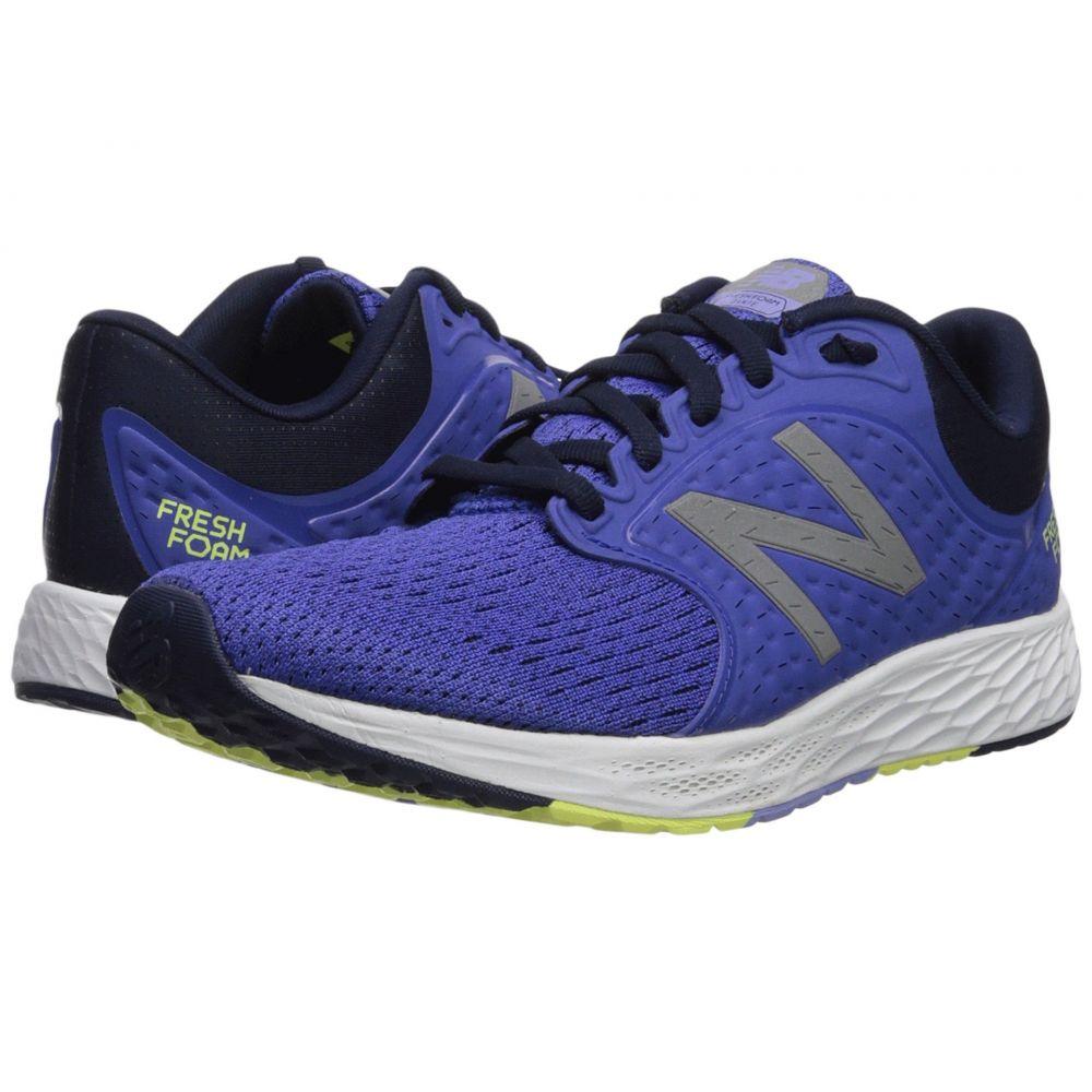 ニューバランス New Balance レディース ランニング・ウォーキング シューズ・靴【Fresh Foam Zante v4】Blue Iris/Pigment/Solar Yellow