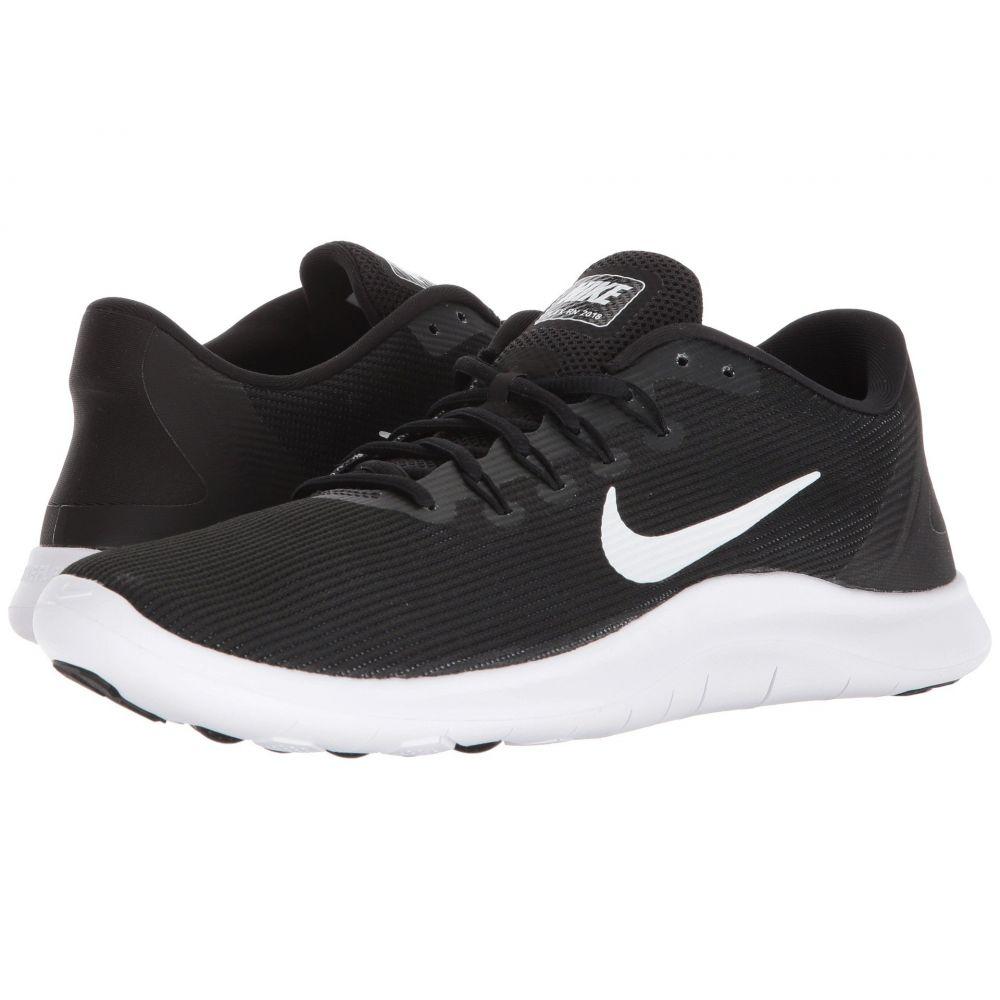 ナイキ Nike メンズ ランニング・ウォーキング シューズ・靴【Flex RN 2018】黒/白い/黒