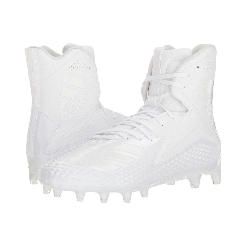 アディダス adidas メンズ アメリカンフットボール シューズ・靴【Freak x Carbon High】Footwear White/Footwear White/Footwear White