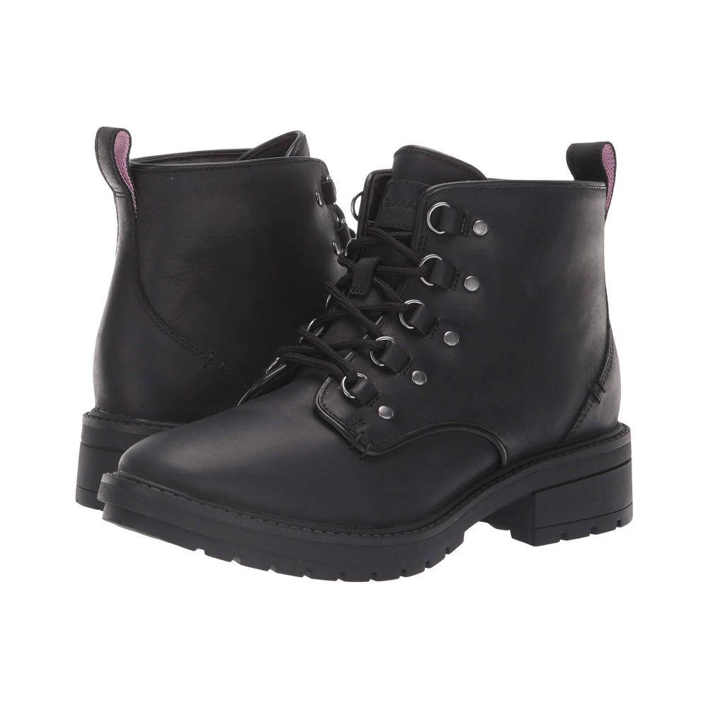 コールハーン Cole Haan レディース ハイキング・登山 シューズ・靴【Briana Grand Lace-Up Hiker】Black Waterproof Leather