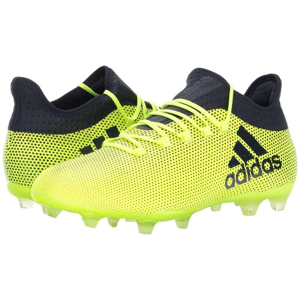 アディダス adidas メンズ サッカー シューズ・靴【X 17.2 FG】Solar Yellow/Legend Ink
