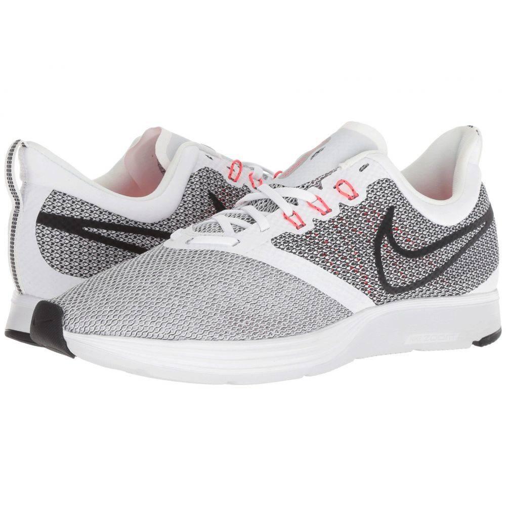 ナイキ Nike メンズ ランニング・ウォーキング シューズ・靴【Zoom Strike】White/Black/Bright Crimson/Pure Platinum