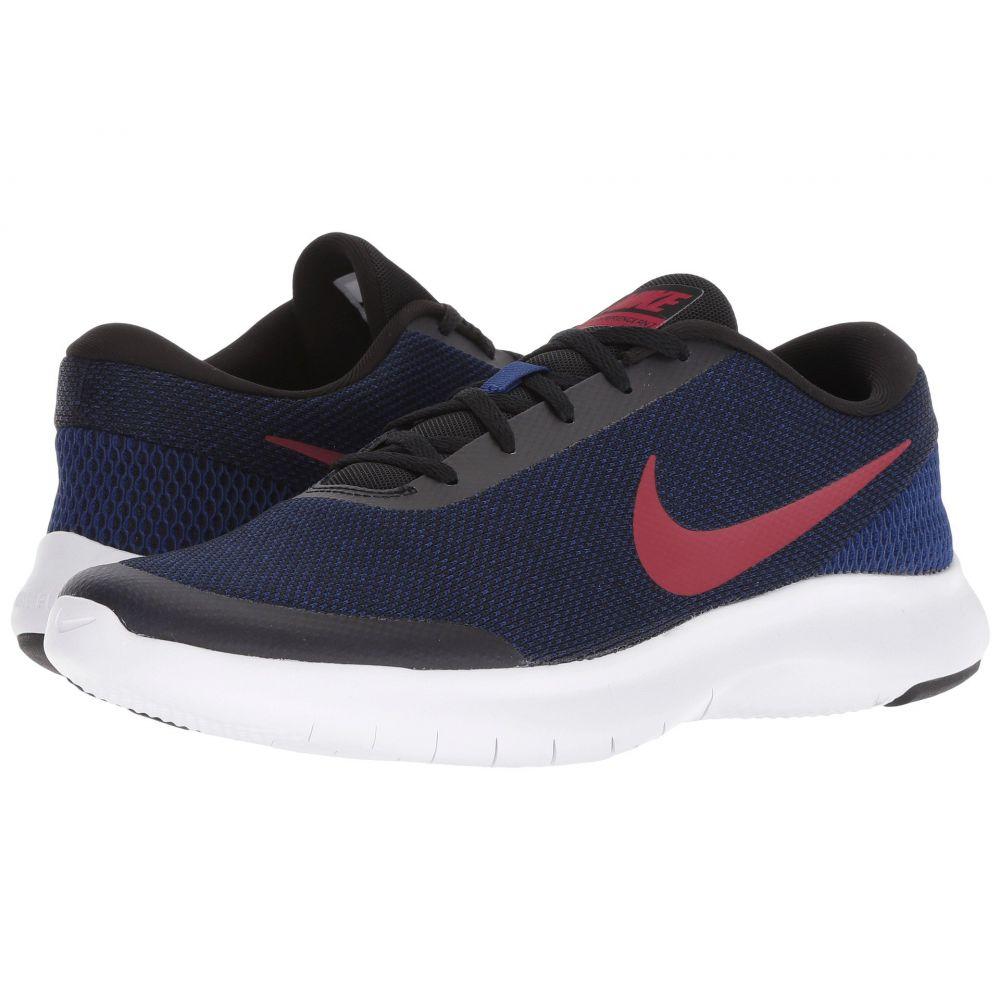 ナイキ Nike メンズ ランニング・ウォーキング シューズ・靴【Flex Experience RN 7】Black/Red Crush/Deep Royal Blue/White