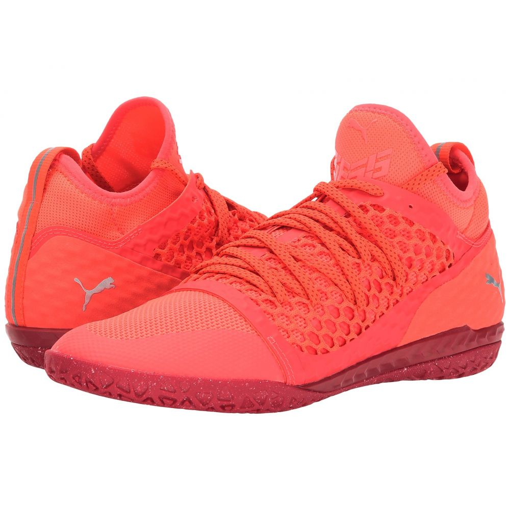 プーマ PUMA メンズ サッカー シューズ・靴【365 Ignite Netfit CT】Fiery Coral/PUMA White/Toreador